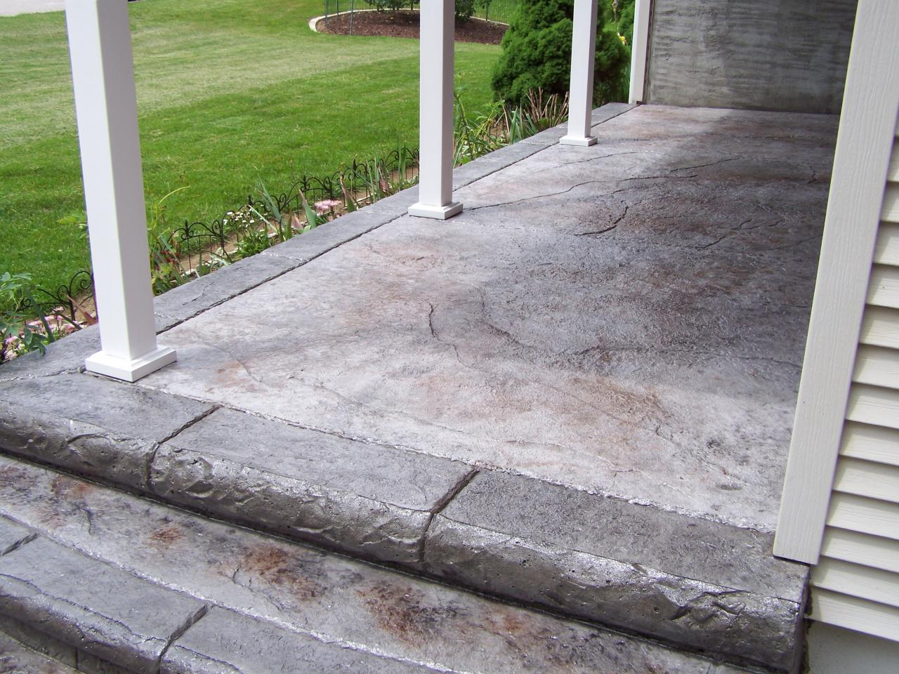 Broom Brushed Concrete Broom Finish Driveways Palermo