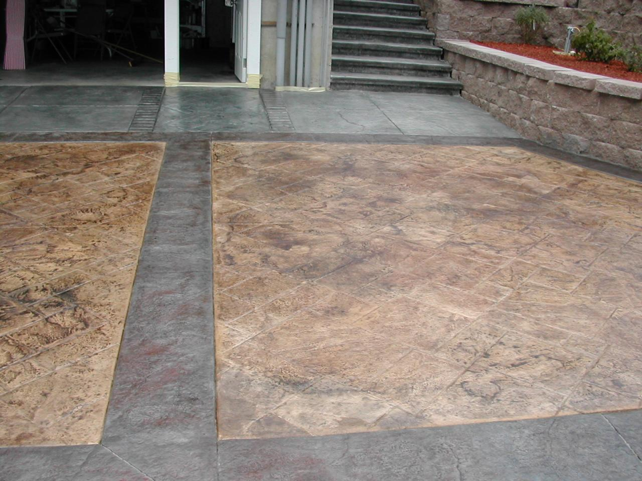100 Flagstone Stamped Concrete Pictures Dr Dan U0027s